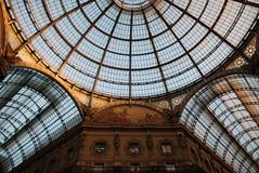 圆顶场所维托里奥Emanuele II 库存照片