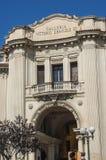 圆顶场所维托里奥Emanuele III在墨西拿 图库摄影