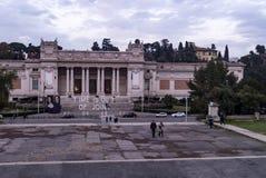 圆顶场所nazionale d ` arte moderna 库存图片
