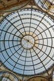 圆顶场所Vittorio Emanuele II -米兰 免版税图库摄影