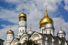 圆顶天使大教堂伊冯伟大的Belltower 免版税库存照片