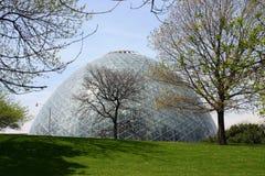 圆顶巨人温室 免版税库存图片