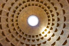 圆顶意大利万神殿罗马 免版税库存照片