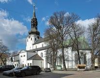 圆顶教会在塔林,爱沙尼亚 免版税库存图片