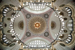 圆顶清真寺suleymaniye 免版税库存照片