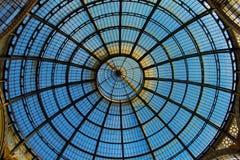 圆顶的上面在米兰 免版税图库摄影