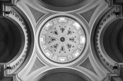 圆顶的内部细节 免版税图库摄影
