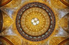圆顶的绘画 免版税库存图片