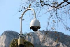 圆顶类型照相机在摩纳哥 库存照片