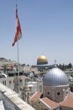 圆顶耶路撒冷岩石 免版税图库摄影