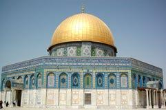 圆顶耶路撒冷岩石 库存图片