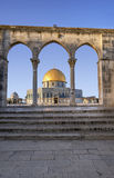 圆顶耶路撒冷岩石 免版税库存图片