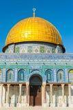 圆顶耶路撒冷老岩石sity 库存图片