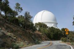 圆顶观测所望远镜 免版税库存照片