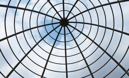 圆顶钢结构 库存图片