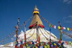 圆顶stupa 免版税库存图片