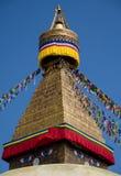 圆顶stupa 库存图片