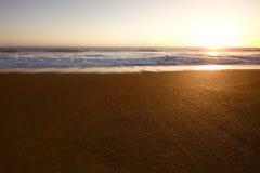 圈地海滩在旧金山 免版税图库摄影