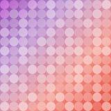 圈子几何背景,圆的马赛克样式 免版税库存照片