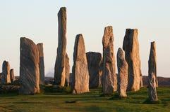 圈子新石器时代的石头 库存图片
