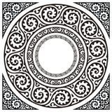 圈子框架 免版税图库摄影