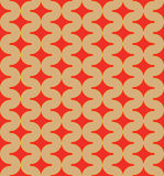 圈子的几何样式 免版税库存图片