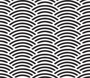 圈子的无缝的几何样式 免版税库存照片