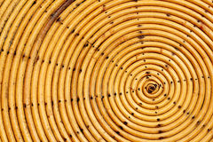圈子竹子样式织法  免版税图库摄影