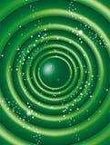 圈子绿色 免版税库存照片