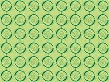 圈子绿色 免版税图库摄影