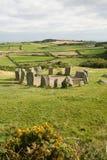 圈子drombeg爱尔兰石头 库存图片