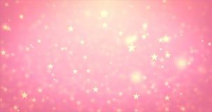 圈移动的秀丽星微粒 向量例证