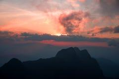 土井Laung城镇Dao - Chiangmai泰国 免版税库存图片