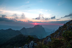 土井Laung城镇Dao - Chiangmai泰国 免版税库存照片