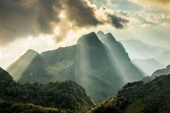 土井Luang城镇Dao省清迈泰国风景 图库摄影