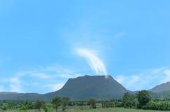 土井Luang山 库存图片