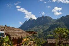 土井Luang Chiangdao山 库存照片