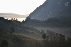 土井Luang Chiangdao山 免版税库存照片
