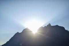 土井Luang Chiangdao山 免版税图库摄影