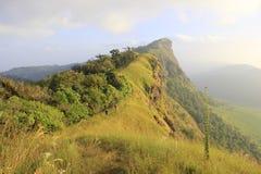 土井Monjong,一座平安的山,在Chiangmai, Th 免版税库存照片
