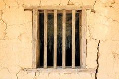 土制窗口 库存照片