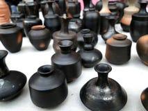 土制罐 免版税图库摄影