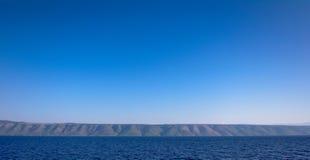 土坎和沟壑,赫瓦尔岛 图库摄影