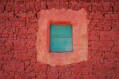 土坯房在马兰热省村庄,安哥拉 免版税图库摄影