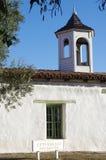 土坯房Casa de Estudillo在老镇圣地亚哥 免版税库存图片