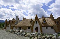 黏土城堡,神仙的谷,罗马尼亚- 8可以2016年 免版税库存图片