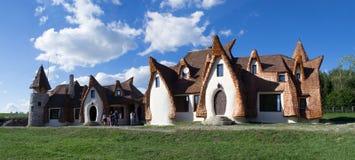 黏土城堡,神仙的谷 免版税库存图片