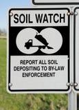 土壤和土地保护 库存图片