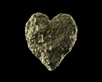 土壤心脏 库存图片