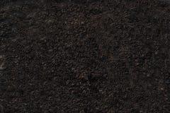 土壤深灰纹理背景 图库摄影